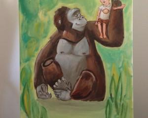 Cosi & Etta the Gorilla