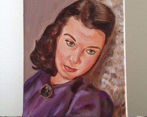 Janet Leigh Painting