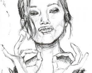 Marion Cotillard Sketch
