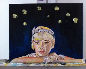 The Great Gatsby Painting