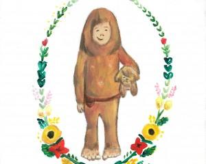 "Little Bigfoot Illustration – ""I Will Go Too"""